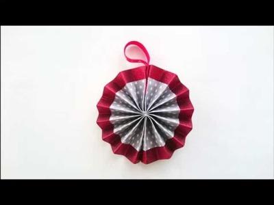 Bricolage Noël : Comment fabriquer une rosace de Noël ?