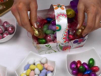 Bricolage panier de Pâques