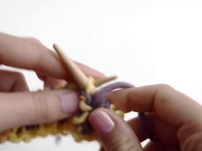 Comment tricoter le point Brioche avec deux aiguilles | We Are Knitters