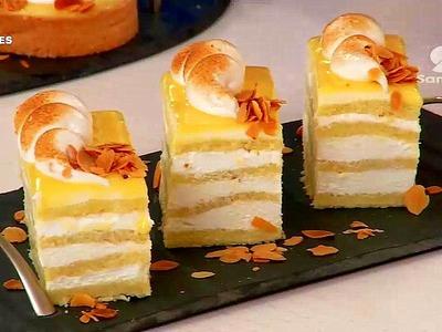 Gâteau tranche de citron et Tarte au citron - Recette facile - cuisine algérienne 2015,Samira TV HD