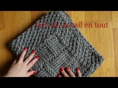 Tricoter la couverture bébé tutoriel. Knit baby blanket