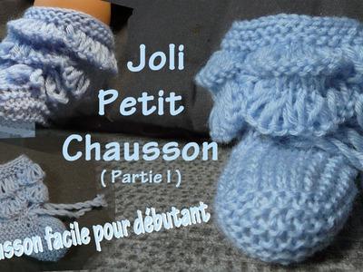 Tuto tricot : Chaussons pour bébé