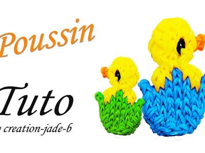 Tuto Rainbow Loom - Poussin dans sa Coquille pour Pâques !