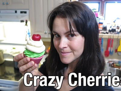 Making Crazy Cherries Soapy Cupcakes (Cold Process)
