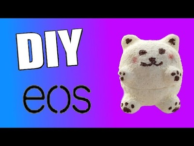 DIY | Tuto EOS ourson ( pâte silicone)