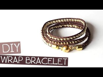 TUTO. DIY - Wrap Bracelet (partenariat PimPomPerles.fr)