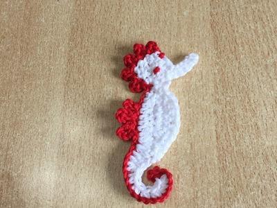 Tuto hippocampe au crochet