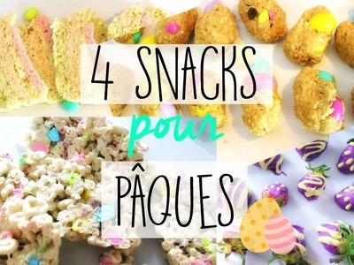 4 Snacks pour Pâques. DIY