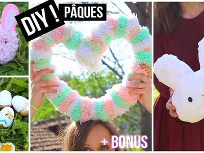 DIY┋PRINTEMPS : 4 DECORs PAQUES + BONUS DEGUISEMENT LAPIN - DIY français Easter spring