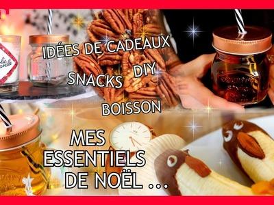 NOËL 2016 | Idées de cadeaux, Boisson, Snacks, DIY, Essentiels.  [Français] - Claire