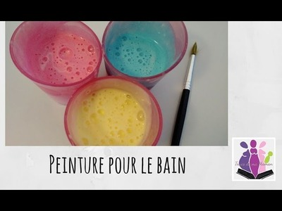 [DIY] Peinture pour le bain pour les petits - Se salir proprement !