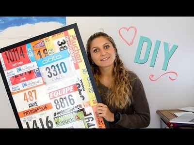 DIY Running: Exposer vos Dossards de Course