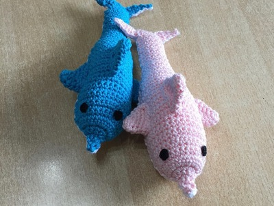 Tuto  amigurumi dauphin au crochet 2.2