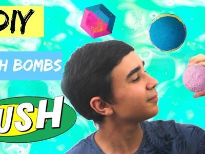 DIY Lush Bath Bombs l JustJonathan