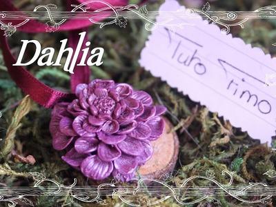 [♥✿ Tuto Fimo Fleurs : Le Dahlia ✿♥] ~ [♥✿ Polymer Clay Tutorial Flowers : Dahlia ✿♥]