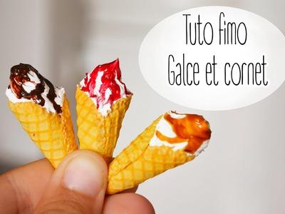 Tuto Fimo : Le cornet de glace. polymere