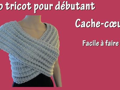 Tuto tricot débutant : Cache-coeur