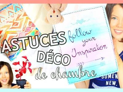 Astuces Déco de Chambre  | Pinterest & Tumblr - Claire