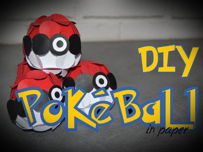 [DIY] FABRIQUER UNE POKEBALL (simple) - Les passions de Laure