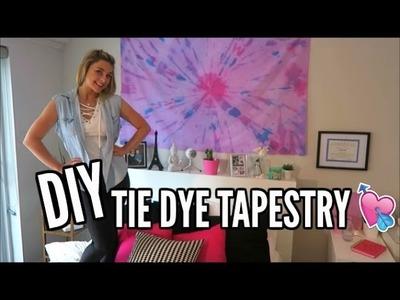 DIY Tie Dye Tapestry