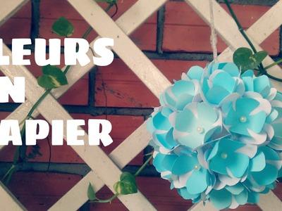 Origami facile - Boule de fleurs