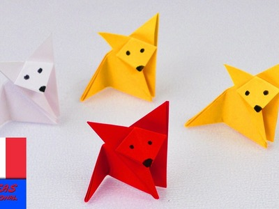 Renard en pliage | Origami Fox | Super simple & super mignon | Idée bricolage