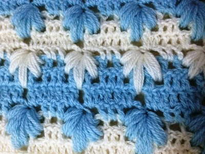 Crochet : Point magnifique facile. Punto maravilloso tejido a crochet