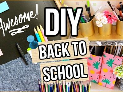 DIY Back To School 2016 I Spécial Rangement