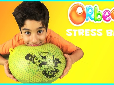 Explosion Géant Balle anti stress Orbeez - Diy Orbeez Stress Ball