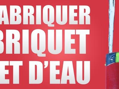 FABRIQUER BRIQUET JET D'EAU