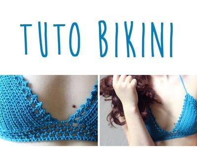 Tuto bikini au crochet pour l'été (haut)