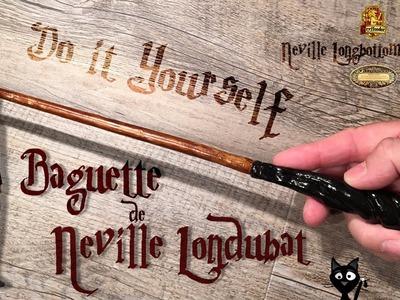 Tuto DIY - La baguette magique de Neville Londubat