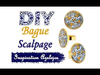 Tuto DIY Schéma: Créer sa Bague esprit Azulejos en apprenant la technique de scalpage