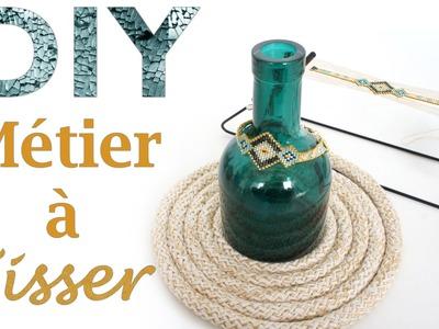 Tuto DIY Schéma : Faire un bracelet en perles Miyuki Delicas au métier à tisser