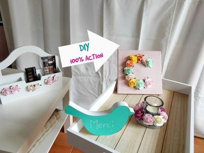 DIY ACTION - Idées cadeaux fête des mères. Gifts - Spring room decor