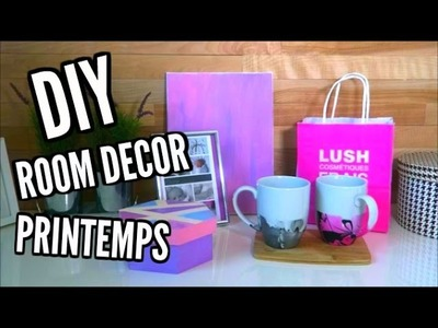 DIY Room decor printemps !