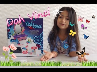 TUTO DOH VINCI by PLAY DOH - Coiffeuse à décorer - DIY - loisirs creatifs. Un Monde Princesses