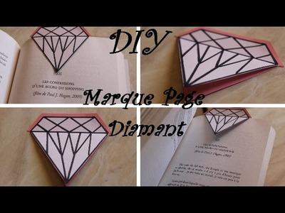 DIY Marque Page en Diamant
