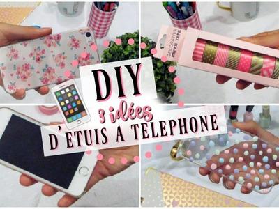 ♡ DIY | 3 idées d'étuis à téléphone ♡