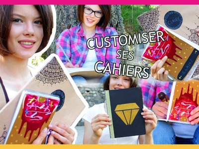DIY BACK TO SCHOOL 2016 | Customiser Ses Cahiers [Français] - Claire