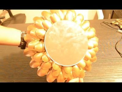 DIY : Miroir en Cuillère plastique  ♡ {Decor Maison} ♡