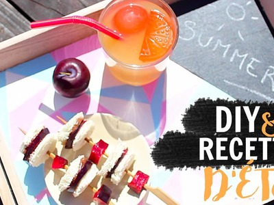 - DIY & RECETTE D'ÉTÉ - Un bon goûter estival