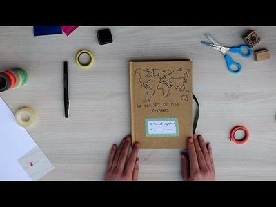 Réalise ton carnet de voyage - DIY