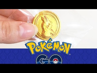 POKEMON GO! Tutoriel FIMO POKÉPIÈCE.POKECOINS Pikachu - Polymer clay tutorial Inspired