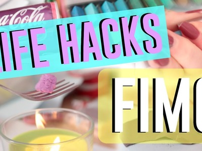 • 7 Astuces Fimo⎢7 Polymer Clay Life Hacks  •