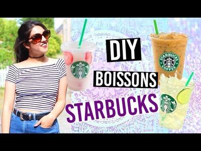 DIY • Boissons Starbucks à la maison | camillegrandxo