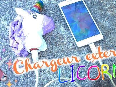 DiY ♡ Chargeur LiCORNE ( Batterie externe )