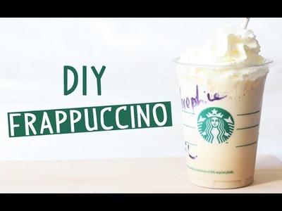 DIY - Frappuccino en 2 minutes