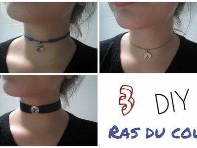 [DIY n°1] 3 colliers ras du cou | Suzy OWL