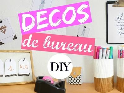 DIY DECORATIONS DE BUREAU [ BACK TO SCHOOL ] #1 + CONCOURS  w. Claire